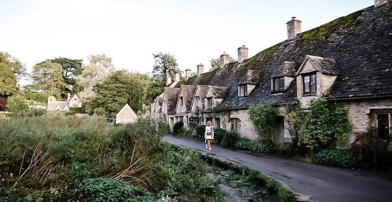 alte Steinhäuser England