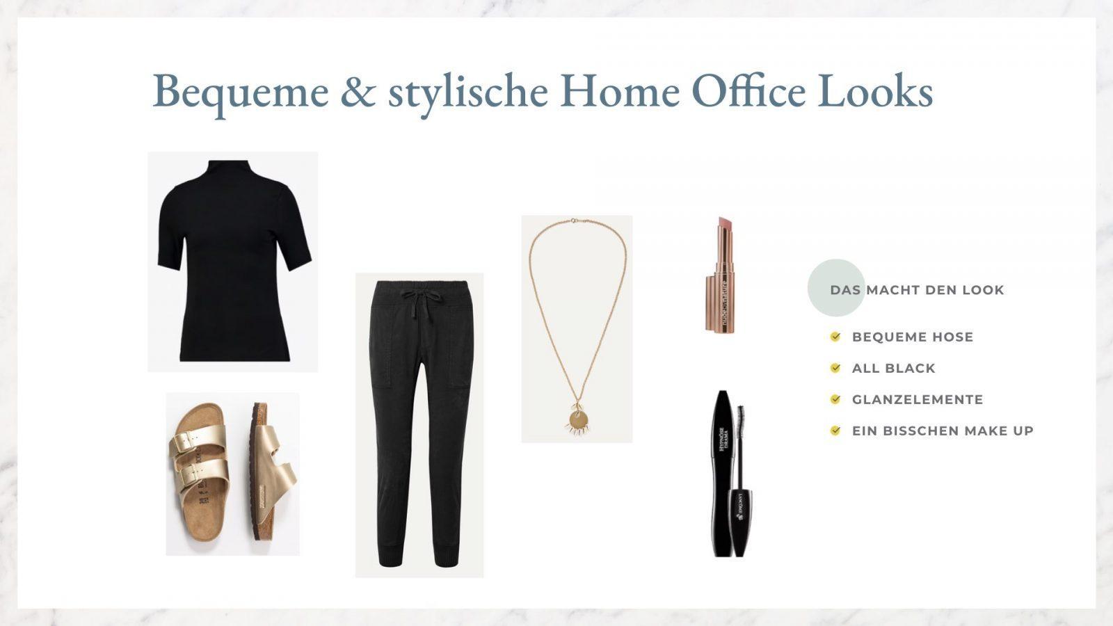 zu Hause arbeiten Outfit Inspiration