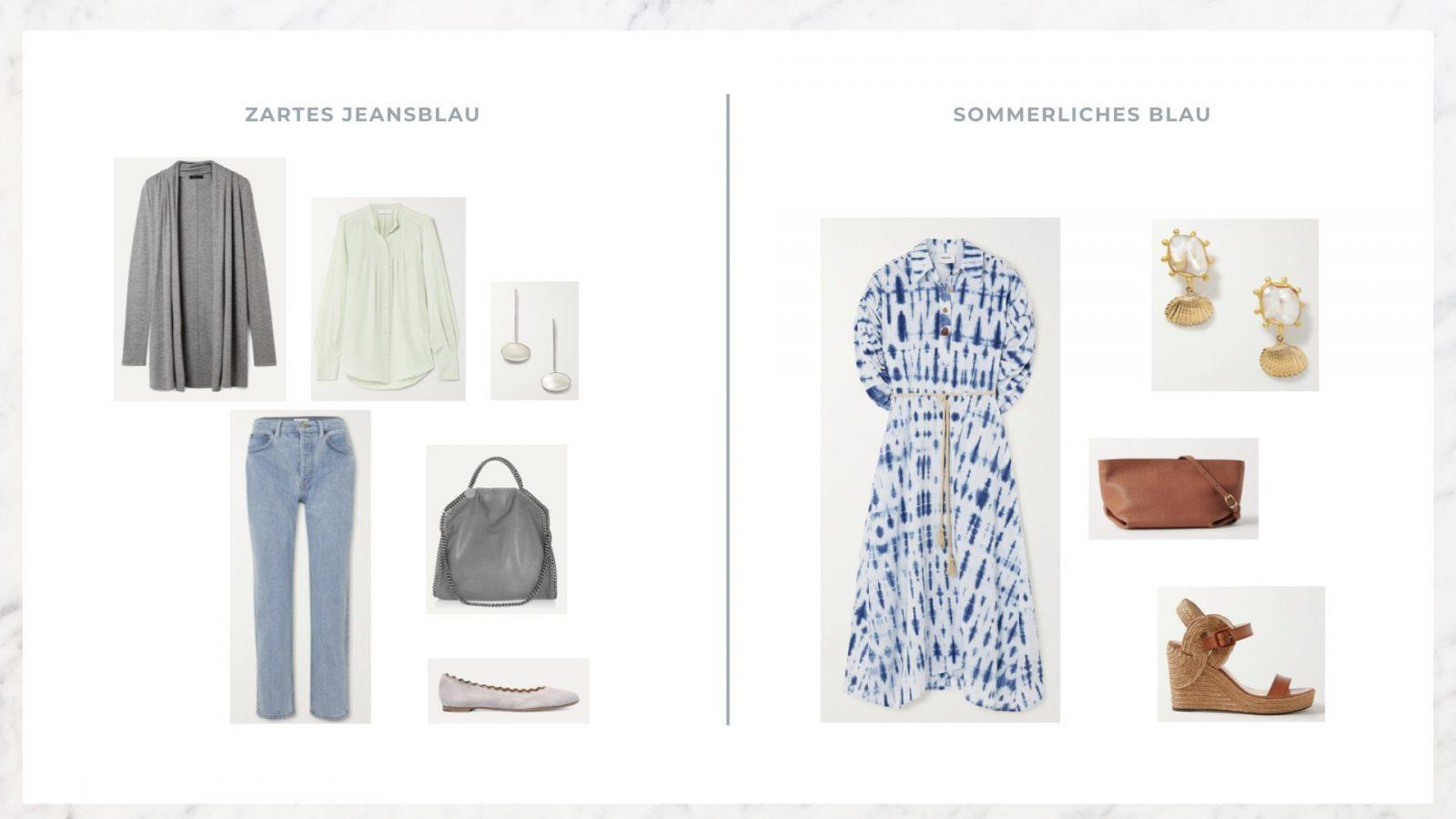 Outfit Ideen mit Blau